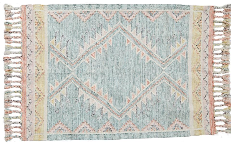 Andalucia Paloma Rug, from £130 or Iris Coral Rug from £138, weavergreen.com