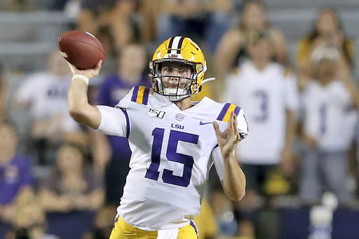 No. 6 LSU and Miss. St. clash in test of new faces, systems