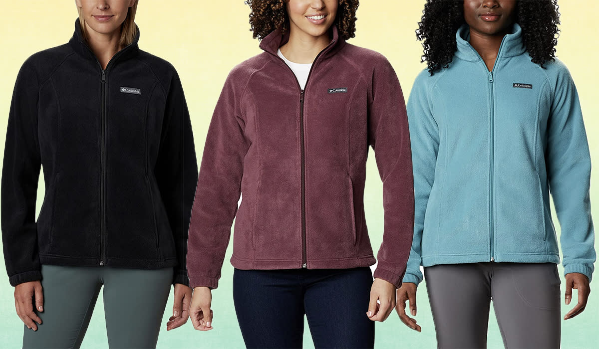 A perfect Columbia fleece for just $38? What's going on?! (Photo: Amazon)
