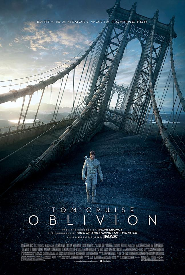 "Tom Cruise stars in Universal Pictures' ""Oblivion"" - 2013"