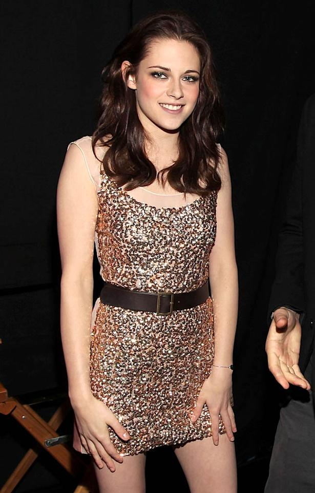 """""""Kristen Stewart didn't spend Christmas Eve weeping into her eggnog over being away from boyfriend Robert Pattinson,"""" reveals HollywoodLife. The site reports Stewart was """"spotted at Soho House in L.A. ... with Tron hottie Garrett Hedlund,"""" who co-stars with her in the upcoming film """"On the Road."""" According to the site, the two were """"sitting together alone"""" and """"stayed until 2:30 a.m.!"""" For the full dish on what went down between them, see what Hedlund's pal confirms to <a href=""""http://www.gossipcop.com/kristen-stewart-garrett-hedlund-soho-house-christmas-eve/"""" target=""""new"""">Gossip Cop</a>. Christopher Polk/<a href=""""http://www.gettyimages.com/"""" target=""""new"""">GettyImages.com</a> - January 5, 2011"""