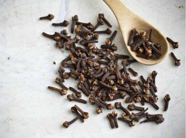 "Cloves: These dried flower buds of the clove tree are considered one of the ""hottest"" among spices. They have antibacterial and antiseptic properties. Being a natural anesthetic, it is used as a remedy for toothache since ages."