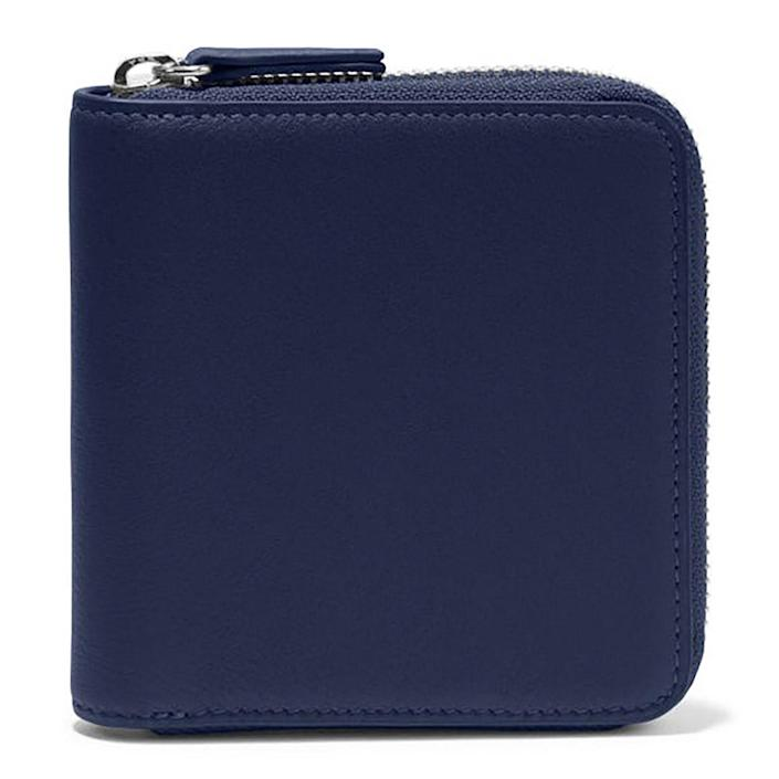 """<p>Can't remember the last time you left the house with a purse? Us either. So we're treating ourselves to a downsized wallet to just toss in our pocket and go. This brand's are classic, last forever and can be personalized with an embossed or hand-painted monogram.</p> <p><strong>Buy It!</strong> Small Zippered Wallet,$55-$85; <a href=""""https://www.leatherology.com/small-zippered-wallet-blue-leather-navy-blue/"""" rel=""""nofollow noopener"""" target=""""_blank"""" data-ylk=""""slk:leatherology.com"""" class=""""link rapid-noclick-resp"""">leatherology.com</a></p>"""