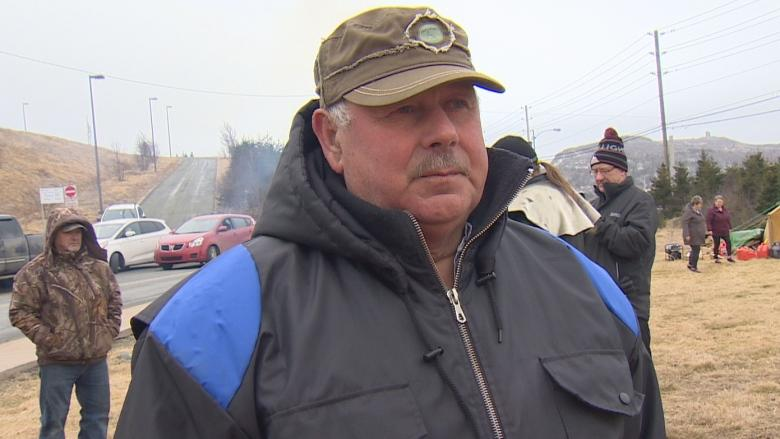 'It's breaking my heart': Richard Gillett's father among fishermen supporting hunger striker