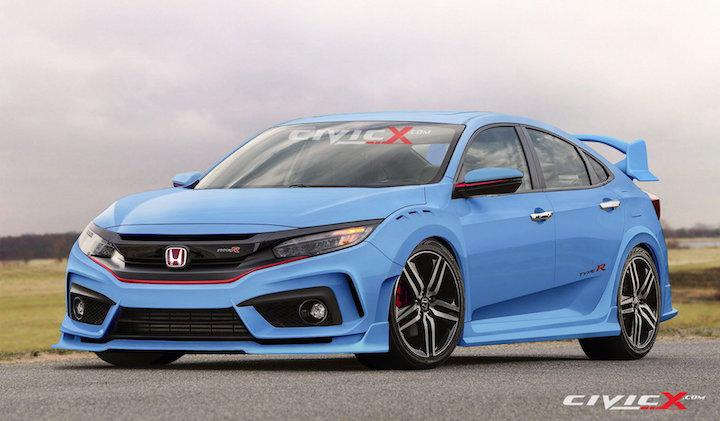 honda civic type r concept has us reaching for our checkbooks. Black Bedroom Furniture Sets. Home Design Ideas