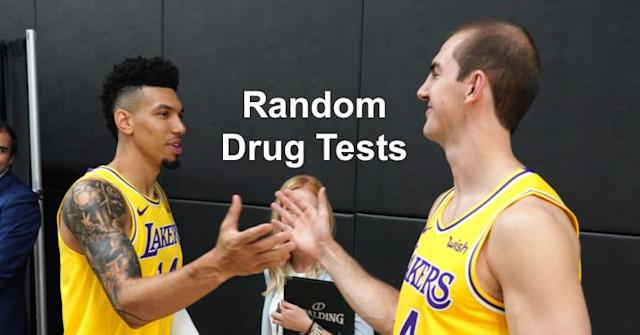 Danny Green dunked on the Hawks so hard that the NBA drug tested him