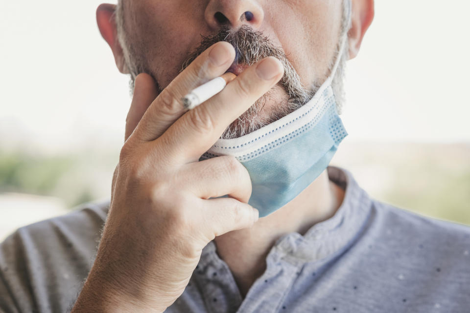 Smokers have been added to the COVID vaccine priority list in North Caroline. (Getty/stock photo)