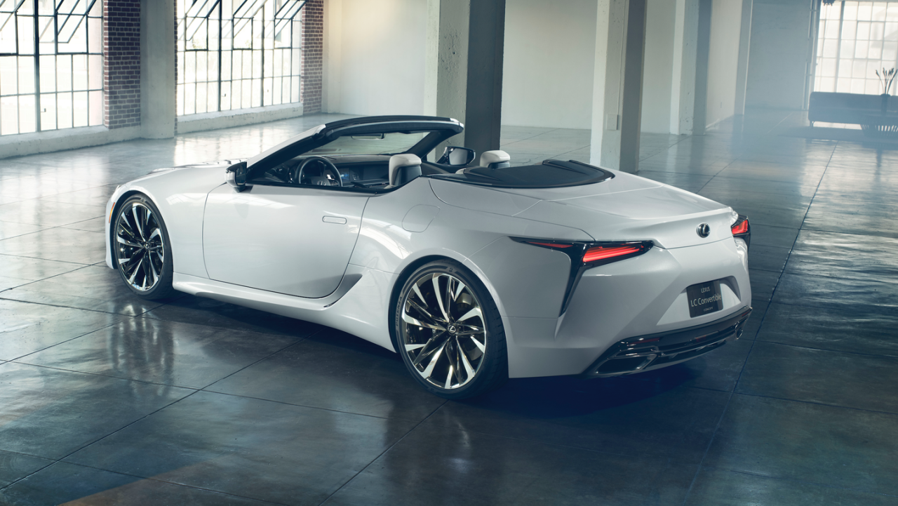 """<p>Lexus actually already <a href=""""https://www.roadandtrack.com/car-shows/detroit-auto-show/a25856777/lexus-lc-convertible-concept-pictures-info-specs/"""" target=""""_blank"""">built a concept version</a> of a convertible LC500, but it has yet to confirm it for production. Considering the car's grand touring attitude, it seems like a no-brainer. Plus, drivers will be able to hear that V-8 much better. </p>"""