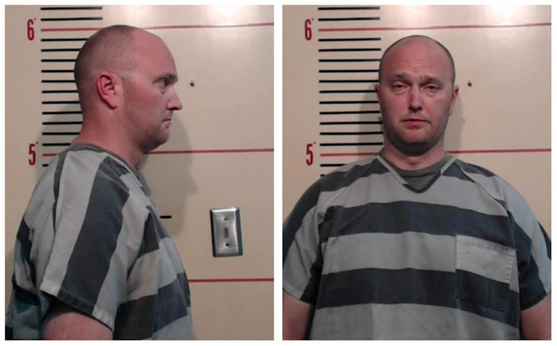 Roy Oliver in booking photos released by the Parker County Sheriff's Office.