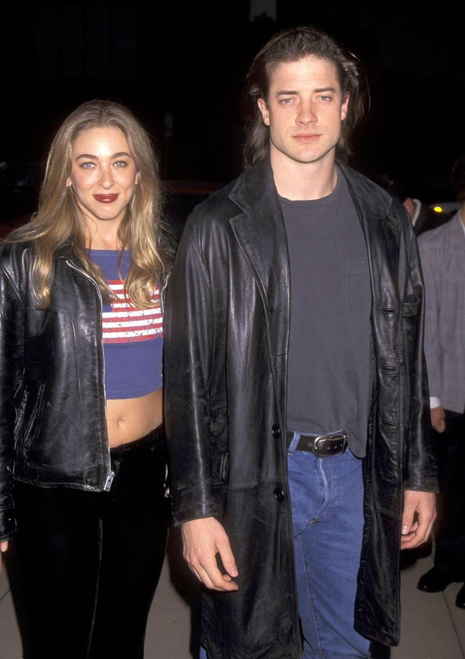 <p>Brendan Fraser grew his hair long to play George in <em>George of the Jungle </em>in 1995, but kept the iconic look for a few years after. Today, the actor opts for a short look instead. </p>
