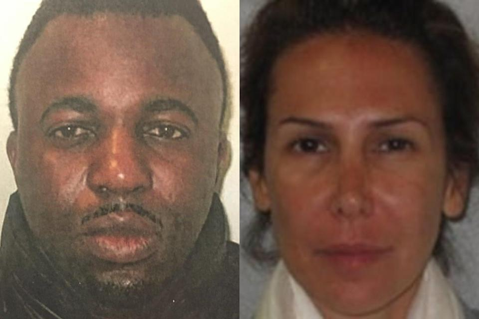Emmanuel Scotts, 53, and his wife Behnaz Khoram-Scotts, 51, pretended to be wealthy as they opened a string of bank accounts to deposit cheques into (UKF)