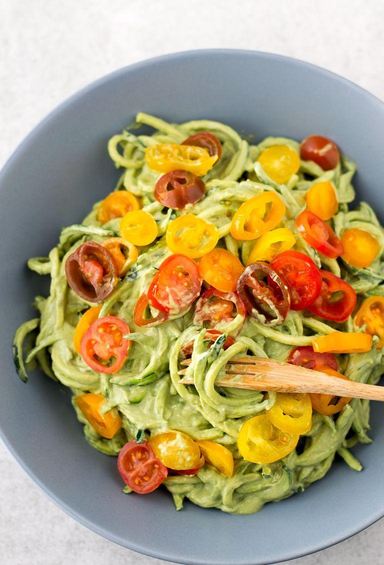 "<p>Is there anything avocado can't do?</p><p>Get the recipe from <a href=""https://simpleveganblog.com/zucchini-noodles-with-avocado-sauce/"" rel=""nofollow noopener"" target=""_blank"" data-ylk=""slk:Simple Vegan Blog"" class=""link rapid-noclick-resp"">Simple Vegan Blog</a>. </p>"