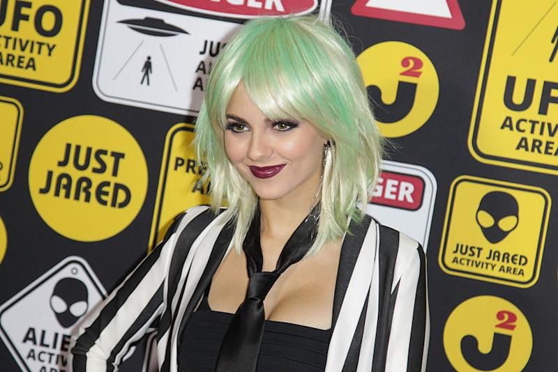 Victoria Justice Makes Scary Look Sexy In This Beetlejuice Costume