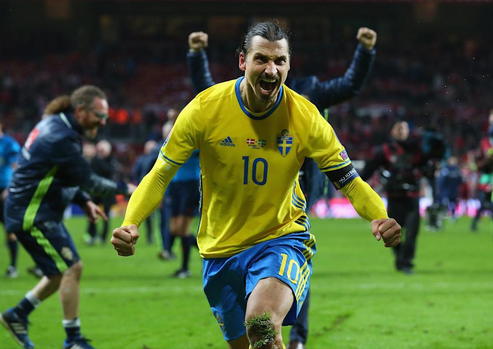 Zlatan Ibrahimovic has not appeared for Sweden since Euro 2016. (Getty)