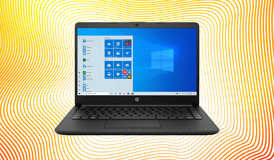 Save $51 on this HP 14 (2020) laptop. (Photo: Amazon)