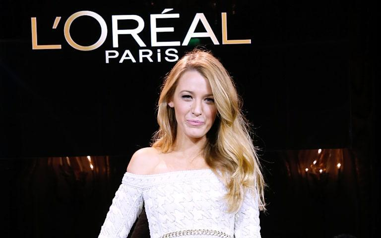Annoucement Of The New Egerie  L Oreal Paris : Blake Lively