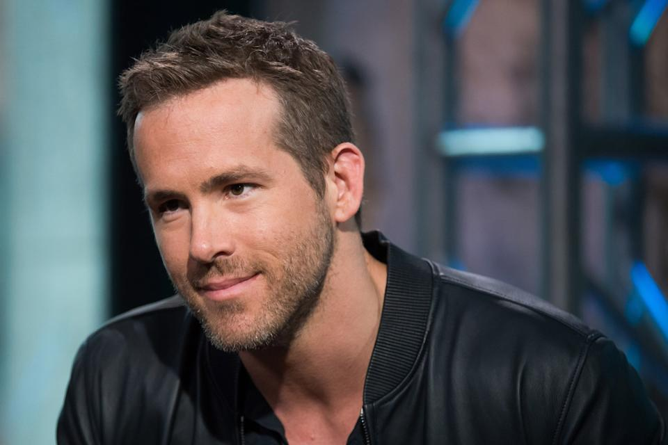 Ryan Reynolds participates in AOL's BUILD Speaker Series to discuss his new film