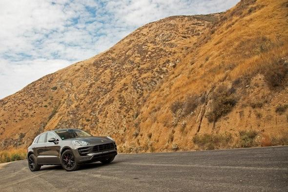 Porsche Macan snapped virtually undisguised