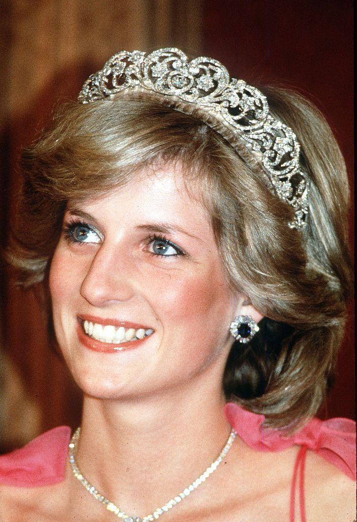 <p>It's tradition that unmarried women don't wear tiaras in order to show that they are available. This is why you didn't see Kate Middleton sporting a sparkler until her big day.</p>