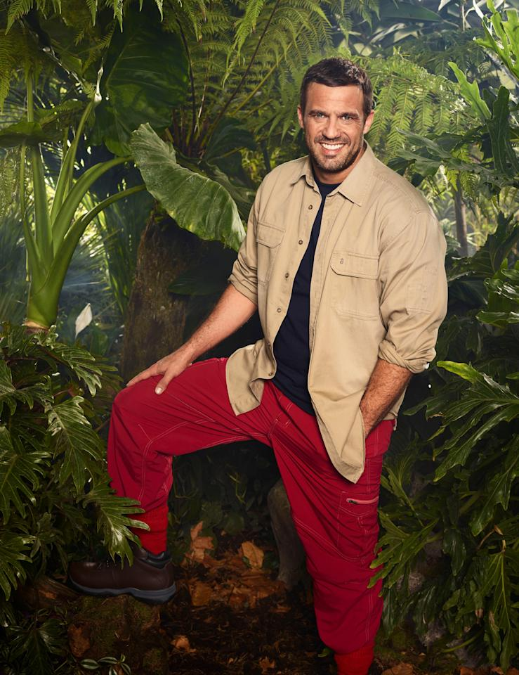 <p>Jamie Lomas is known for playing Hollyoaks' baddie Warren Fox and will no doubt show fans a different side in the Aussie outback. </p>