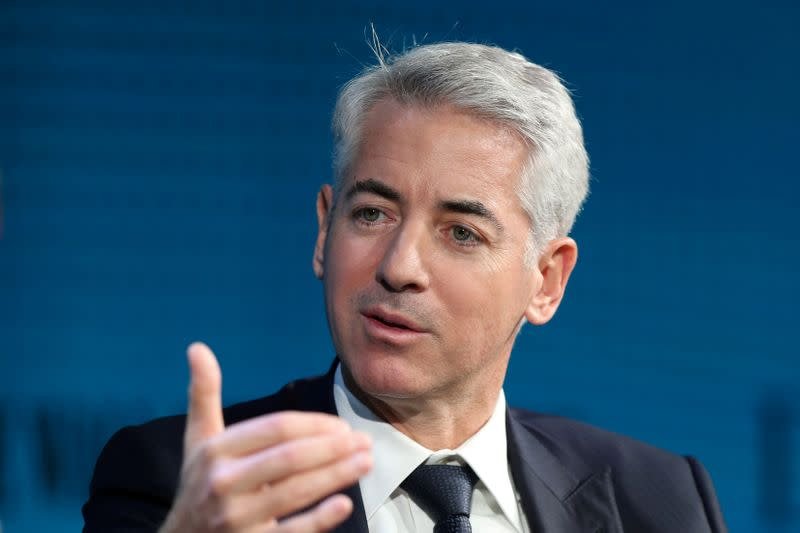 FILE PHOTO: Ackman, CEO of Pershing Square Capital, speaks at the WSJ Digital Conference in Laguna Beach