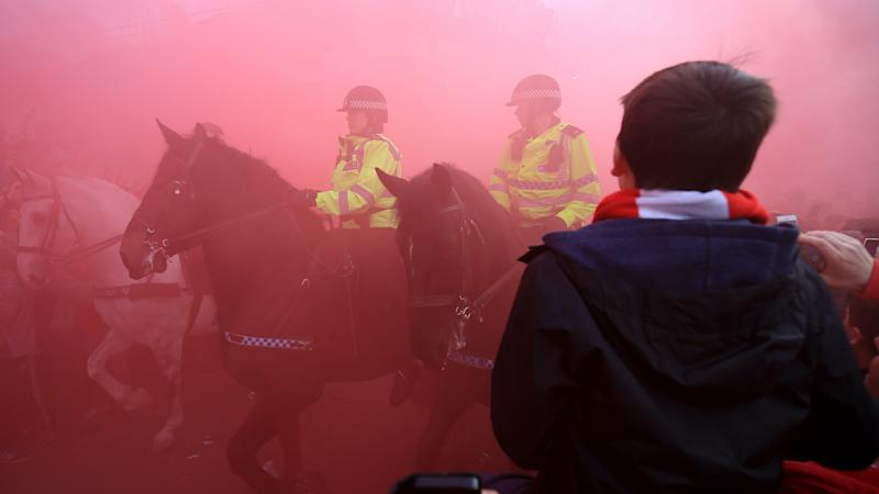 Police request for Liverpool's potential title win to be played at neutral venue