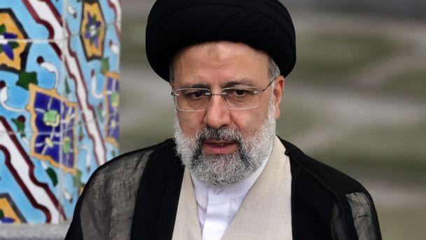PHOTO: Presidential candidate Ebrahim Raisi gives a news conference after voting in the presidential election, at a polling station in Tehran, Iran, on June 18, 2021. (Atta Kenare/AFP via Getty Images)