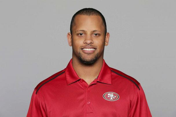 PHOTO:This 2016, file photo shows Keanon Lowe of the San Francisco 49ers NFL football team. (AP, FILE)