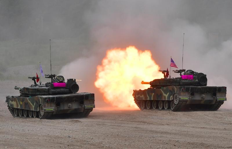 Joint military drills between US and South Korean forces always raise tensions on the divided peninsula