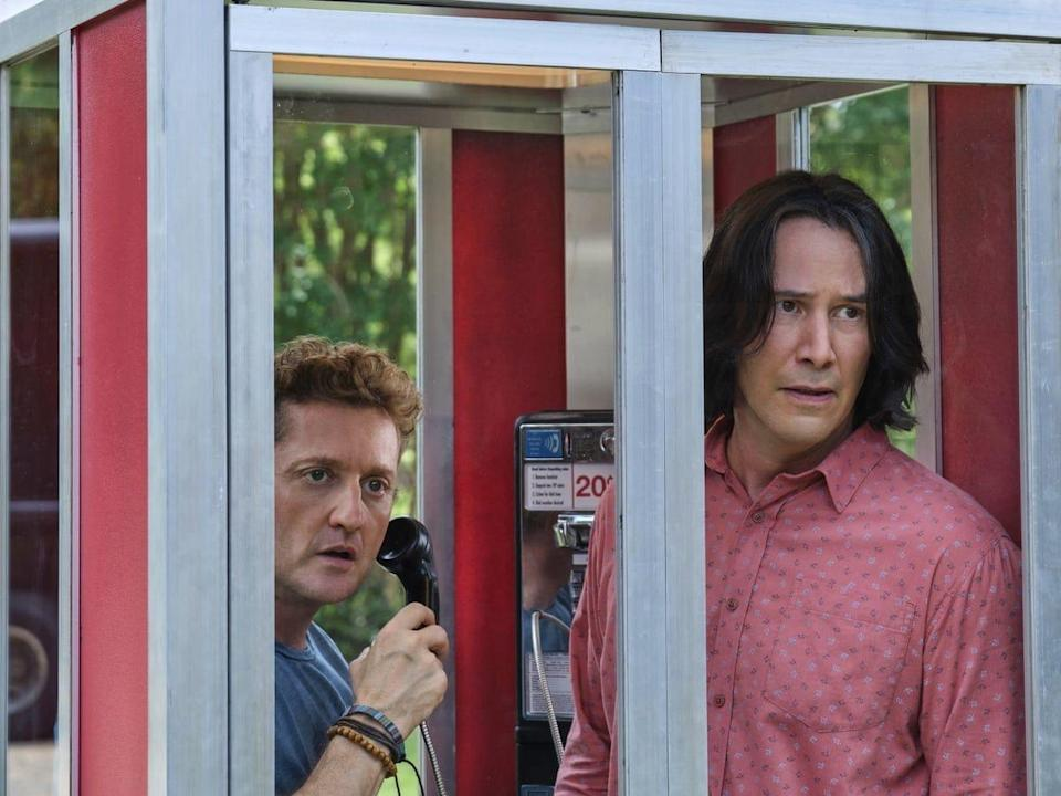 <p>Two middle-aged dads (Keanu Reeves and Alex Winter) use time-travel to fulfill their destiny of becoming hit song makers. The third <em>Bill and Ted</em> adventure comes nearly 30 years after their last outing, and comes out on September 1, 2020.</p>