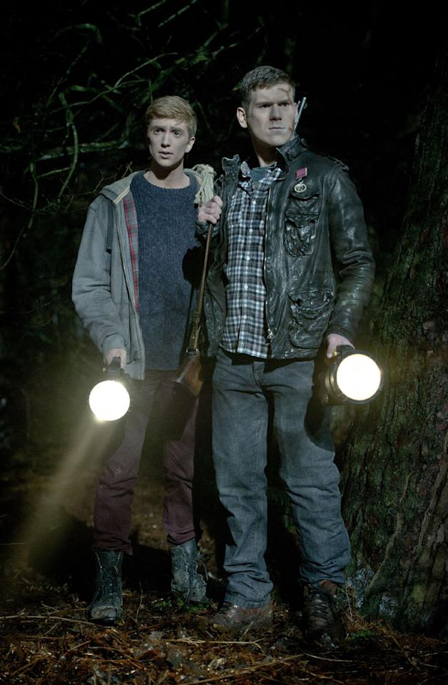 "Luke Newberry as Kieren Walker and David Walmsley as Rick in BBC America's ""In The Flesh."""