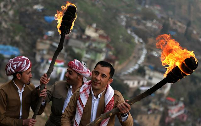 Newroz Nowruz 2017 Kurdish new year Persian