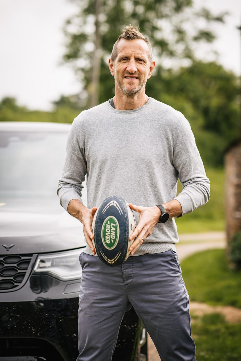 Will Greenwood, 48, was a three-time tourist in 1997, 2001 and 2005