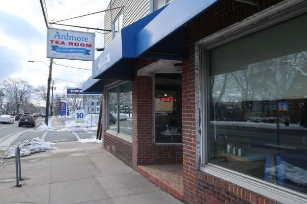 Officers responded to a call that said people were dining at the popular Quinpool Road restaurant in violation of restrictions.