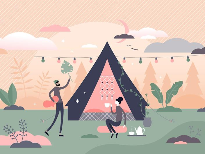 Stock up on these essentials to make your next camping trip less Bear Grylls and more like a five-star stay in the wilderness: iStock