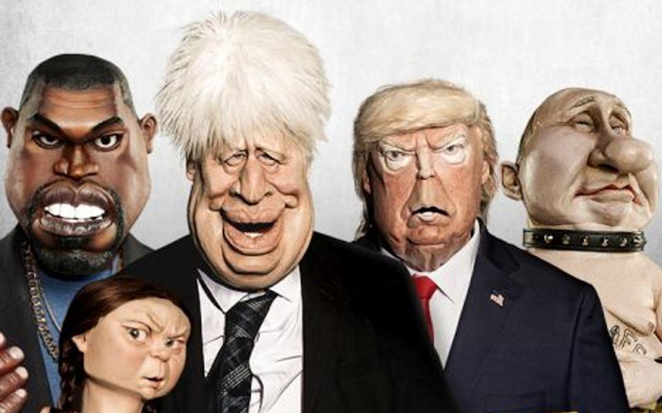 Greta Thunberg, Boris Johnson, Donald Trump: In der britischen Puppen-Satire