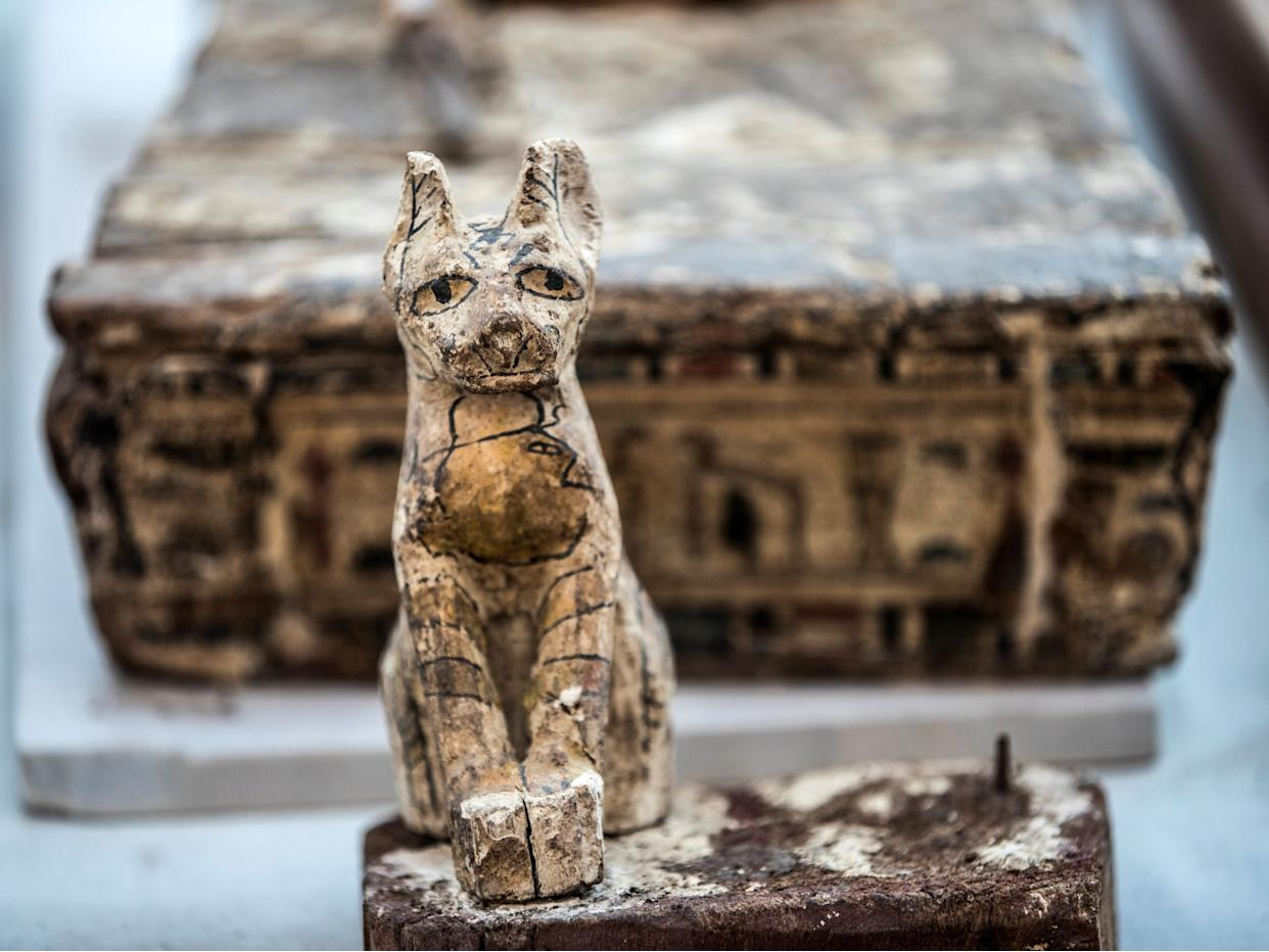 GettyImages 1184126848 mummy cat