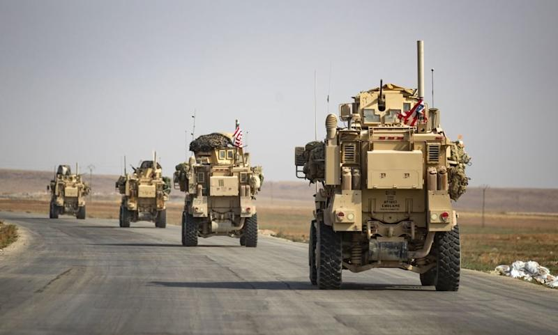 Potatoes Thrown at American Troops As They Depart Northeastern City in Syria