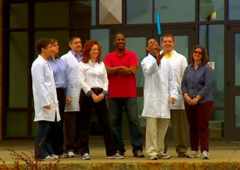 A team of scientists from GE Global Research who are developing technology to improve cancer care. T ...