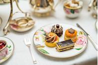 """<p>For the daintiest of pastries, neatly crimped sandwiches and pillowy scones stuffed with fresh cream and jam, look no further than Mayfair institution <a href=""""https://go.redirectingat.com?id=127X1599956&url=https%3A%2F%2Fwww.booking.com%2Fhotel%2Fgb%2Frocco-forte-brown-s-london.en-gb.html%3Faid%3D2070929%26label%3Dhotel-afternoon-tea&sref=https%3A%2F%2Fwww.redonline.co.uk%2Ftravel%2Fg37102406%2Fhotel-afternoon-tea%2F"""" rel=""""nofollow noopener"""" target=""""_blank"""" data-ylk=""""slk:Brown's Hotel"""" class=""""link rapid-noclick-resp"""">Brown's Hotel</a>. With its original wood panelling, striking contemporary artworks and genteel ambience, the luxury hotel's Drawing Room is a place to soak up quintessentially English sensibilities and modern sophistication as you tuck into its delicate hotel afternoon tea offering.</p><p>There are various afternoon tea menus, including traditional afternoon tea, rose champagne afternoon tea, plant-based afternoon tea and Wimbledon afternoon tea for summer.</p><p><strong>Price:</strong> From £55 per person</p><p><a class=""""link rapid-noclick-resp"""" href=""""https://go.redirectingat.com?id=127X1599956&url=https%3A%2F%2Fwww.booking.com%2Fhotel%2Fgb%2Frocco-forte-brown-s-london.en-gb.html%3Faid%3D2070929%26label%3Dhotel-afternoon-tea&sref=https%3A%2F%2Fwww.redonline.co.uk%2Ftravel%2Fg37102406%2Fhotel-afternoon-tea%2F"""" rel=""""nofollow noopener"""" target=""""_blank"""" data-ylk=""""slk:BOOK A ROOM"""">BOOK A ROOM</a></p>"""