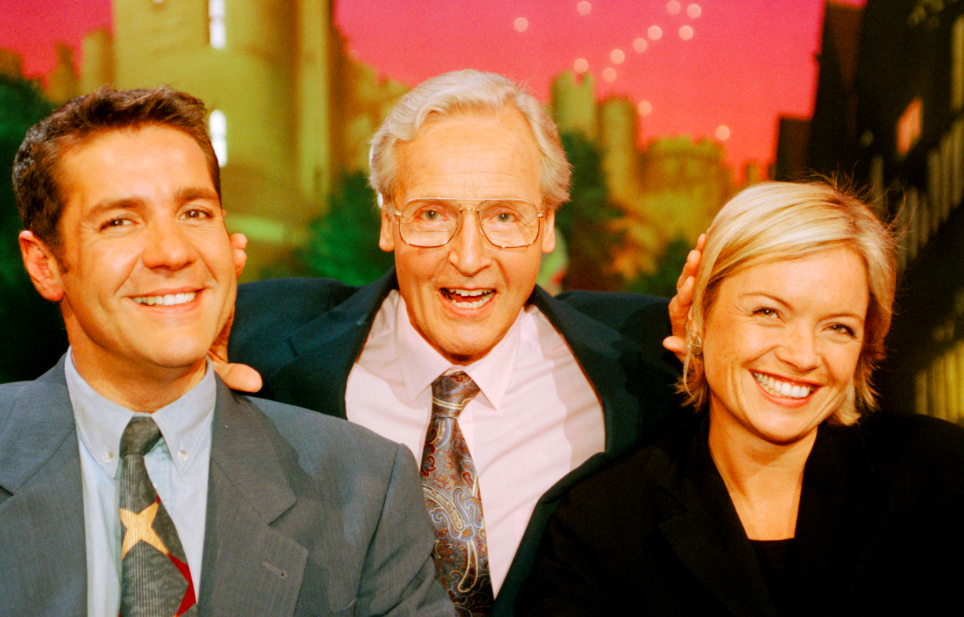 <p>Radio 4 and TV panel show Just A Minute, which saw celebs talk about a subject for 60 seconds without hesitation, featured Dale as a team captain in 1995. (Rex) </p>