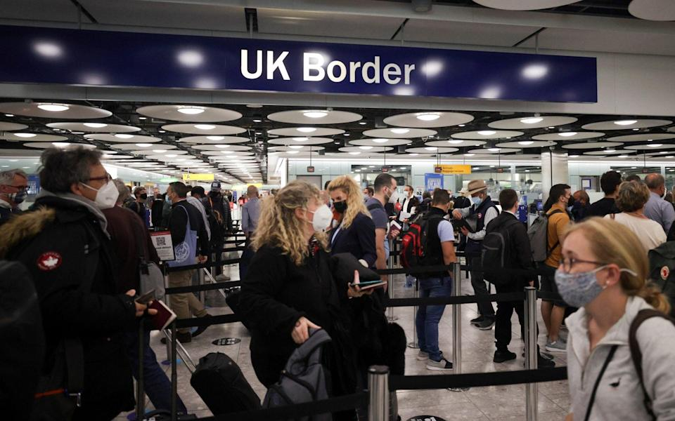 Rapid testing alone will not release people from travel quarantine, insists Foreign Secretary - Hannah McKay/Reuters