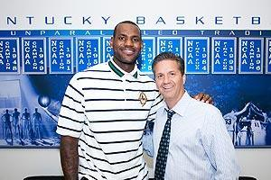 LeBron James and John Calipari have used each other as effective recruiting tools over the past few years