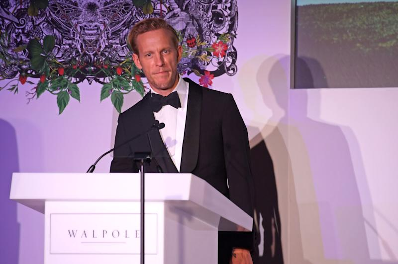 Laurence Fox speak onstage at the Walpole British Luxury Awards 2019. (Photo by David M. Benett/Dave Benett/Getty Images for Walpole)