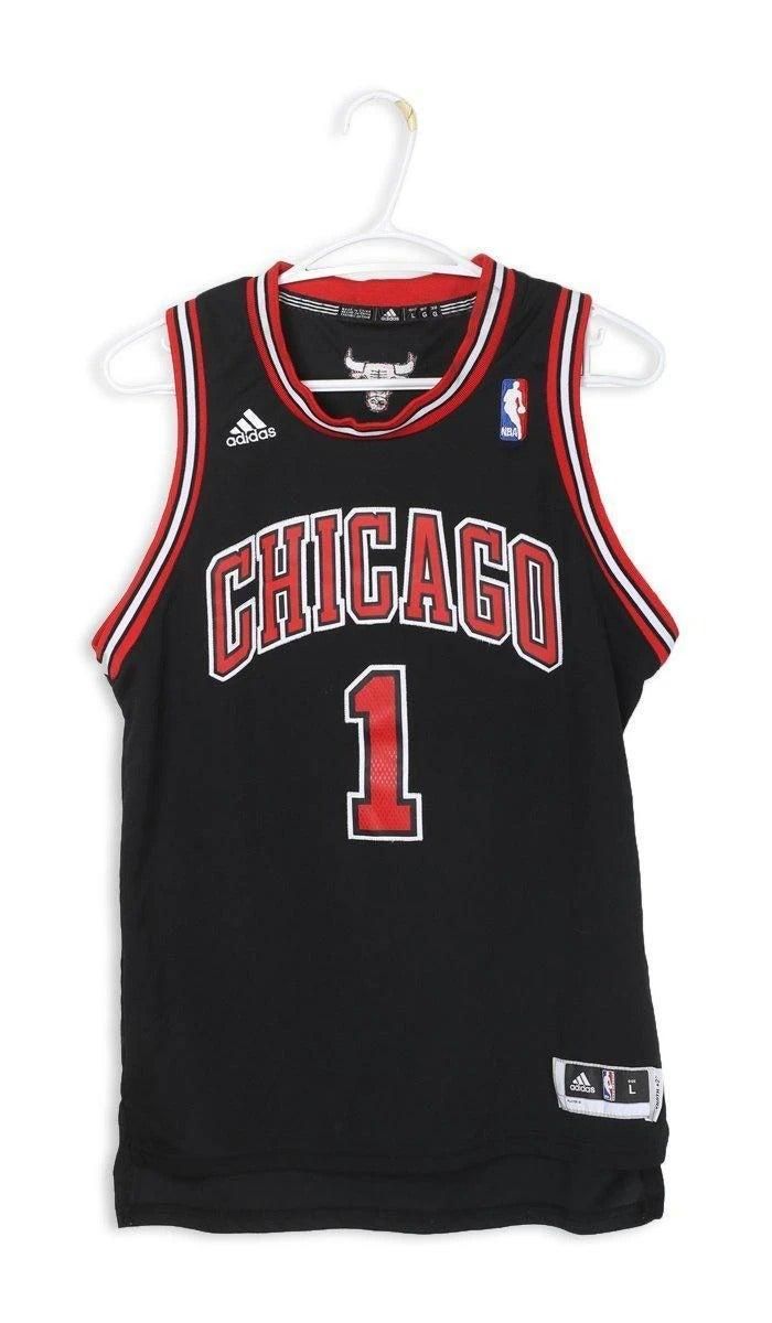 "<br><br><strong>Adidas</strong> Bulls Jersey, $, available at <a href=""https://frankiecollective.com/collections/sports/products/vintage-bulls-jersey-5"" rel=""nofollow noopener"" target=""_blank"" data-ylk=""slk:Frankie Collective"" class=""link rapid-noclick-resp"">Frankie Collective</a>"