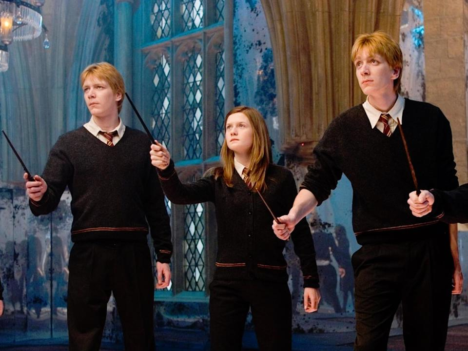 Ginny came into her own as the series developed but her romance with Harry never quite jumped off the pageRex