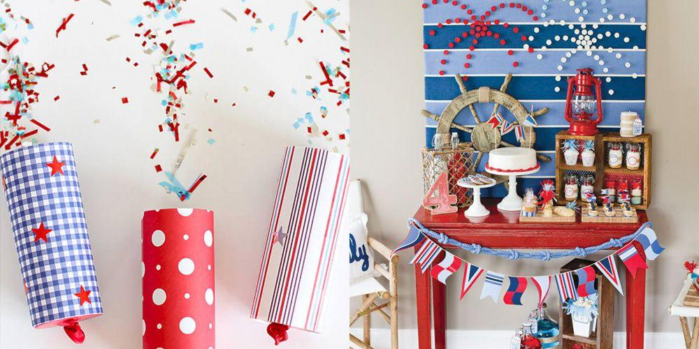 "<p>Come <a href=""https://www.goodhousekeeping.com/4th-of-july-ideas/"" target=""_blank"">Independence Day</a>, everything looks better with stars and stripes. Give your home the star-spangled treatment with these simple 4th of July crafts. We have ideas that will keep kids occupied, as well as some more advanced projects for adults that when completed, can double as your patriotic decor. Get your hot glue gun and your crafting scissors ready, because you're going to want to try these crafts out for yourself.</p><p>Whether you're an old pro at crafting, or you're just looking for something to keep everyone busy until the fireworks, there's something for all ages on this list — including a DIY picnic blanket that you're going to want to use all summer. When you're done crafting, be sure to check out more of our favorite <a href=""https://www.goodhousekeeping.com/holidays/tips/g3620/summer-party/"" target=""_blank"">summer DIY ideas</a>.</p>"