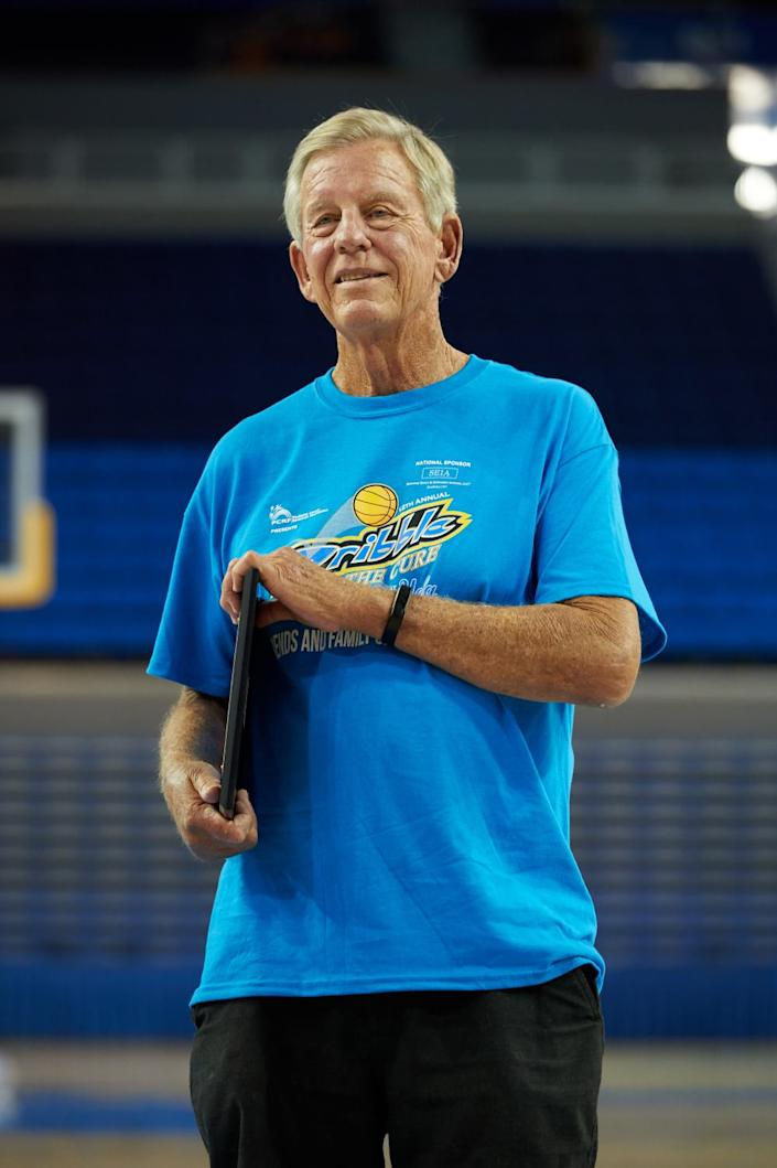 Former UCLA basketball player John Vallely.