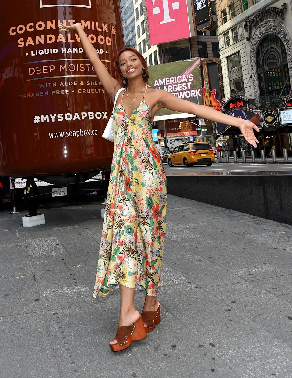 <p>Savannah Lee Smith joins Soapbox in N.Y.C. to kick off The Soapbox Giving Tour on July 16.</p>