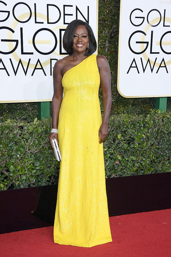 Viola Davis in Michael Kors. (Photo: Getty Images)